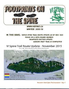 Footprints Newsletter November 2015